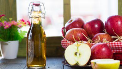 خل التفاح وأهم الفوائد الخاصة به في علاج الشعر الدهني