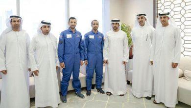 Photo of استقبال الشيخ محمد بن راشد ل النيادي و المنصوري