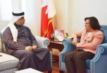 استقبال وزيرة الصحة للنائب ممدوح الصالح
