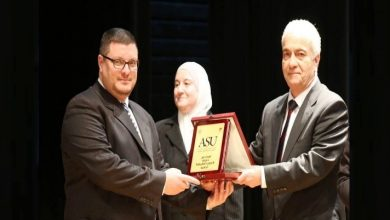 Photo of تكريم جميلة علي سلمان من اتحاد المحامين العرب