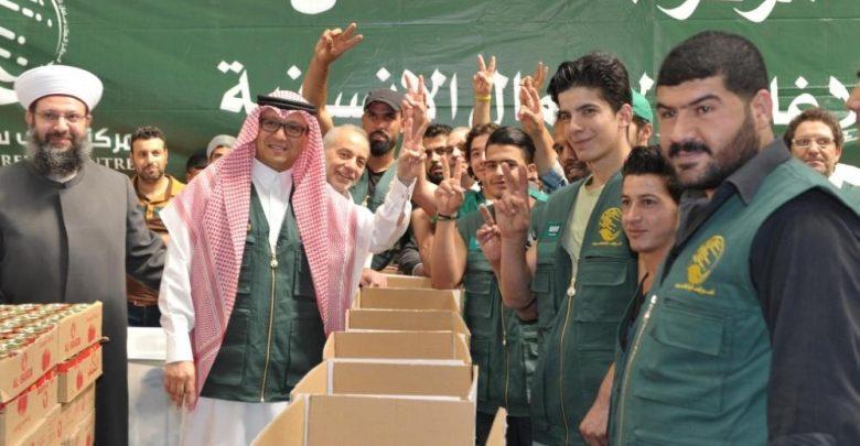 مساعدة مركز الملك سلمان للسوريين اللاجئين
