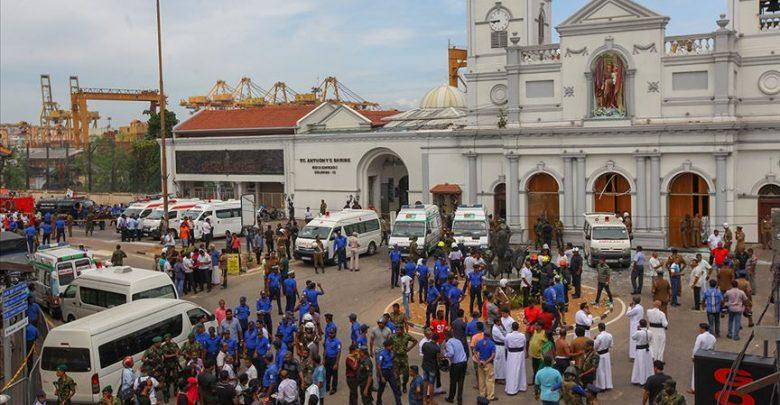 الهجمات الإرهابية بسريلانكا