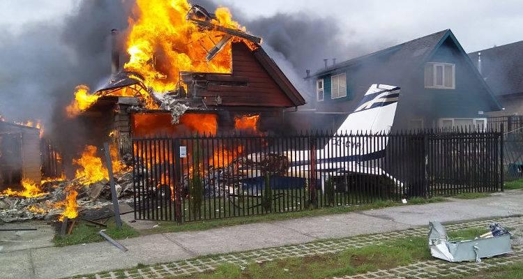 رجل كوري يقوم بإضرام النار في شقته
