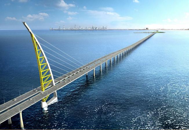 جسر الشيخ جابر الأحمد الصباح
