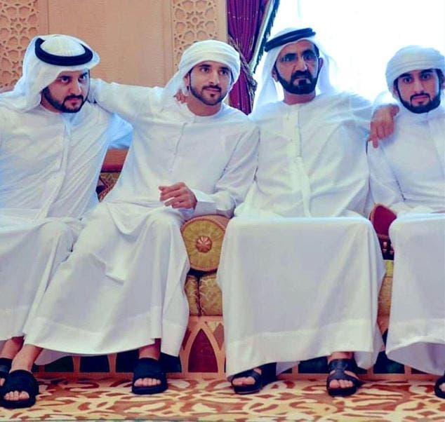 زواج أبناء محمد بن راشد