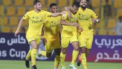 Photo of الدوري الإماراتي مباراة نادي الوصل و حتا في مباراة قص الشريط