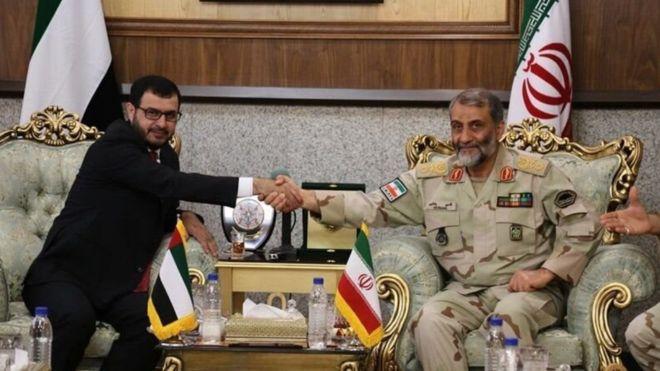 زيارة وفد إماراتي للعاصمة الإيرانية