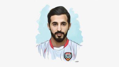 Photo of بندر محمد الأحبابي النجم الإماراتي الظهير الصلب