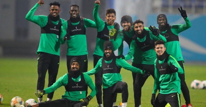 مباراة السعودية ضد أوزبكستان