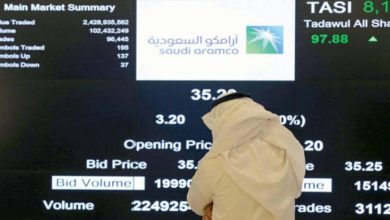 Photo of أسهم أرامكو السعودية تنخفض في البورصة السعودية