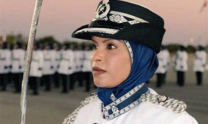 أول امرأة تشغل منصب قائدة شرطة