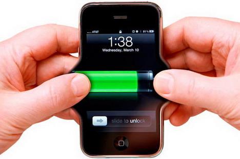 بطارية الهاتف الذكي