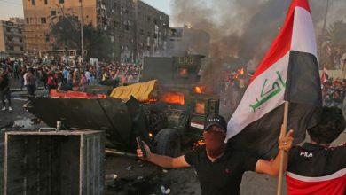 Photo of تجدد التصعيد في العراق واستمرار المتظاهرون بإغلاق الطرق والجسور رغم سوء الطقس