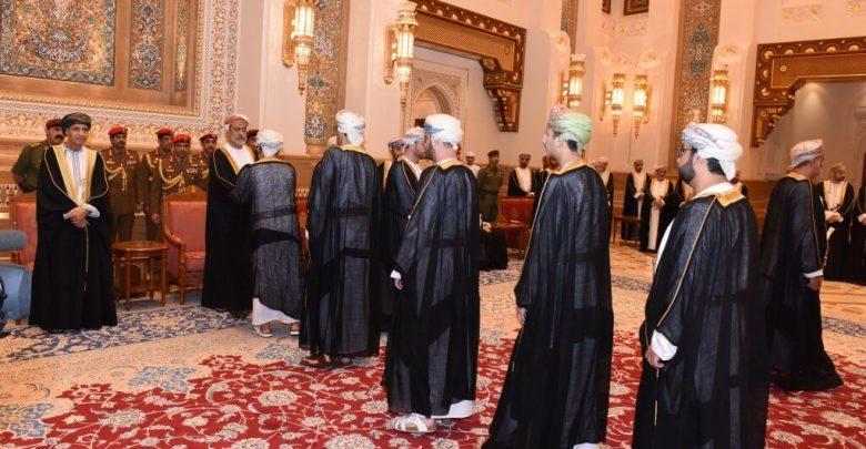 السلطان العماني الجديد