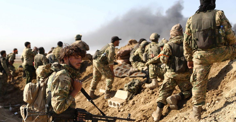 المرتزقة السورية في ليبيا
