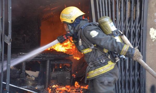 حريق جدة