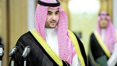 Photo of خالد بن سلمان مع ترامب لمناقشة آمن المنطقة ولنقل رسالة ولي العهد السعودي
