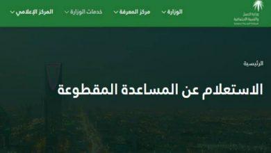 Photo of رابط الاستعلام عن موعد صرف المقطوعة لعام 2020 وأهم الشروط