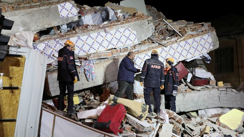 زلزال تركيا المدمر