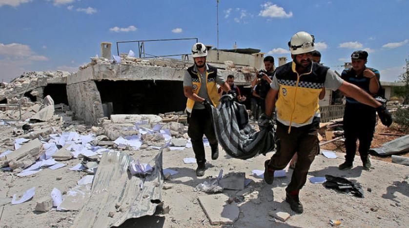 غارات جوية على إدلب