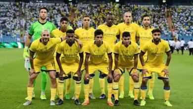Photo of فريق النصر السعودي يستعد للقاء ضمك في بطولة الدوري