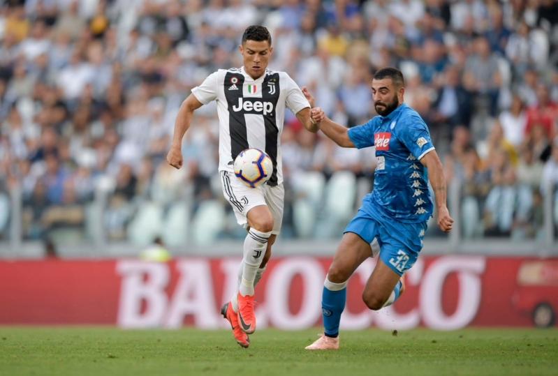 مباراة يوفنتوس ضد نابولي