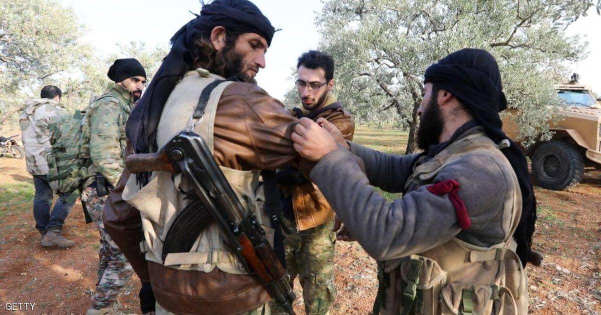 مسلحين إدلب يتوجهون إلى ليبيا