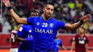 Photo of سالم الدوسري يقود فريق الهلال ضد فريق الرائد