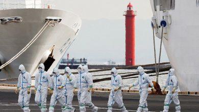 Photo of ارتفاع عدد ضحايا فيروس كورونا إلى 355 حالة على متن السفينة الموبوءة