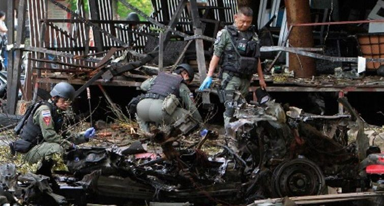 مذبحة تايلاند الدموية