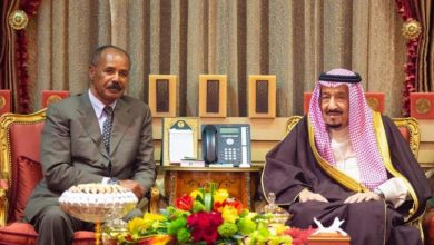 Photo of ولي العهد السعودي يجتمع مع رئيس أريتريا