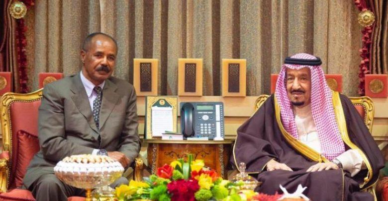 ولي العهد السعودي يجتمع مع رئيس أريتريا