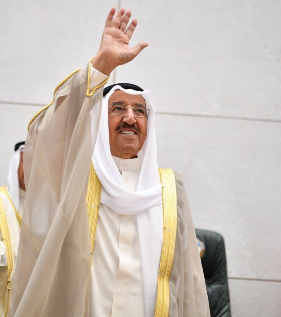 وفاة الشيخ صباح الأحمد