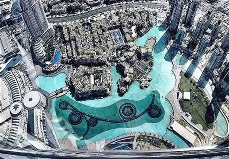 برج خليفة من الأعلى